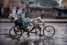 Rain is grace; Rain is the sky descending to the earth … – John Updike