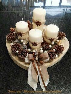 Noel Christmas, Rustic Christmas, Simple Christmas, Christmas Wreaths, Christmas Ornaments, Cheap Christmas, Magical Christmas, Christmas Christmas, Advent Wreaths