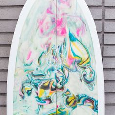The Dead Kooks 5'4 Fish is part of the Riches TW model. The Riches is Dead Kooks' refined version of the keel-fin fish. The nose and tail carry some width but s