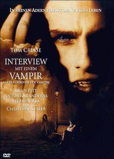 Interview mit einem Vampir  1994 USA      IMDB Rating 7,5 (138.173)  Darsteller: Brad Pitt, Christian Slater, Virginia McCollam, John McConnell, Tom Cruise,  Genre: Horror, Romance,  FSK: 16