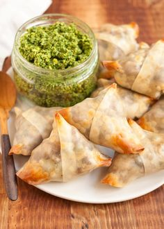 Samosas were my gateway into Indian food back in my college days. What's not to love, really? They're crispy handheld puffs stuffed with spicy potatoes, peas, and onions — a plate of them is an appetizer to share with friends, two or three of them make an excellent lunch to eat on the way to class. I've recently become obsessed with making an easy, baked version of these traditional, potato-filled samosas at home. My very non-traditional secret? Using store-bought dumpling wrappers to hold…