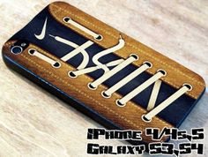 logo nike brown and blue jeans 4/4s,5/5s/5c, Samsung Galaxy s3/s4 Case