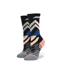 Stance | Shape Crew (Grey) | Women's Socks | Official Stance.com