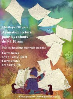 """Escapages: """"Lire fait grandir ! : Livres bébé"""" à la Bibliothèque d'Ottignies"""