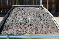 DIY guide on how to build a metal raised garden bed for your garden. This how-to walks you through every step and goes over potential problems and solutions. Metal Raised Garden Beds, Raised Flower Beds, Building A Raised Garden, Raised Beds, Raised Vegetable Gardens, Home Vegetable Garden, Hillside Garden, Cool Woodworking Projects, Corrugated Metal