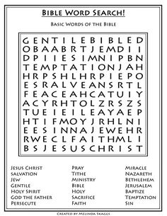 Printables Sunday School Printable Worksheets the old testament and sunday school on pinterest bible puzzles free printables word search bakgron