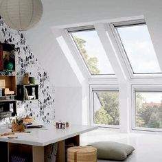 There's a HUGE range of ideas to make the most of your PVC frame roof windows. All will create a stunning finish to your loft conversion.
