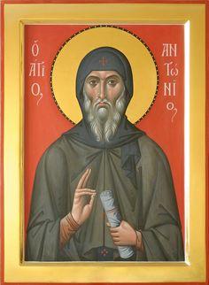 Антоний Великий | Архимандрит Зинон (Теодор). Икона преподоб… | Flickr
