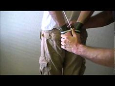 How to Escape from Zip Ties (Behind the Back) - YouTube