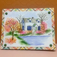 Discover thousands of images about Watercolor the Art Impressions way Watercolor Sketch, Watercolor Cards, Watercolor Flowers, Watercolor Ideas, Watercolour Pens, Watercolor Painting, Art Impressions Stamps, Paint Cards, Acrylic Painting Techniques