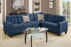Poundex 4-Pcs Modular Sectional Sofa F6938 For $587