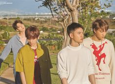 Baekhyun, D.O, Kai, Sehun - 190912 Fourth official photobook 'PRESENT ; the moment' Credit: Glitter Baek. Kyungsoo, Chanyeol, Exo Ot12, Kaisoo, Exo Album, Exo Group, Exo Lockscreen, Exo Korean, Xiuchen