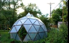 """geodesic greenhouse 