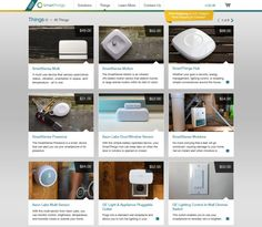 """SmartThings: an online store that features a curated selection of """"Connected Home"""" products to help consumers get up and running."""