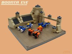 Lego Micro Star Wars:The Boonta Eve Classic by 2 Much Caffeine, via Flickr