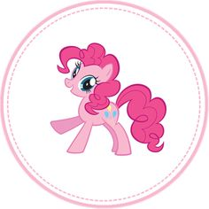 Pinkie Pie Cupcake Topper by moonprincessluna on DeviantArt