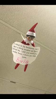 Hottest Images Elf On The Shelf Ideas for classroom Style For folks, locating a book that appeals for their children while also delivering an optimistic, enjo Christmas Activities, Christmas Traditions, Elf Auf Dem Regal, Awesome Elf On The Shelf Ideas, Elf On The Shelf Ideas For Toddlers, Bad Elf, Elf Magic, Elf On The Self, Naughty Elf