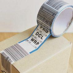 Cinta adhesiva de etiquetas de equipaje de aeropuerto | La Guarida Geek