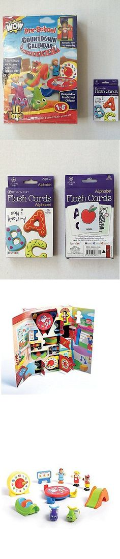 Other Alphabet and Language Toys 11732: Wow Toys Pre-School Countdown Calendar And Alphabet Abc Flash Cards Learning 2 -> BUY IT NOW ONLY: $69.95 on eBay!
