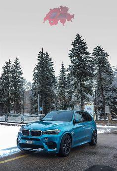 BMW F85 X5M blue