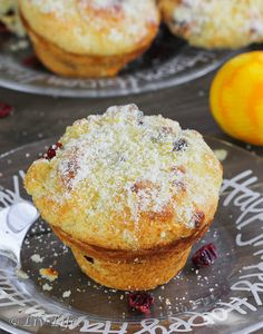 Cranberry Orange Muffins... for when you need something sweet!