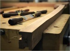Finally a project suitable to put my two-handed rasps to good use! Just posted Episode 450 of An Unplugged Life- Shaping the Legs. Find all of the details on the Unplugged Woodshop website. Toronto Life, Cabinet Makers, Wine Rack, Craft Projects, Workshop, Woodworking, Shapes, Legs, Tools