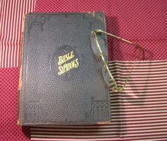 Holy Bible book bible in pictures bible symbols Charles от Anna3, $60.00