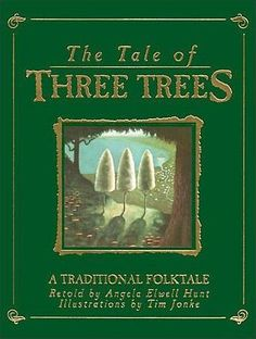 Tale Of Three Trees: Deluxe Edition this best-selling children's book tells the Easter story from a new and unusual point of view. Children will be deeply touched as they understand, perhaps for the first time, the significance of Christ's life and his atoning sacrifice on the cross.    Get it now for $25.00