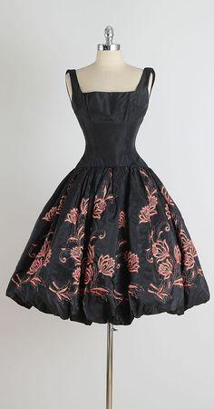 Mon Ami . vintage 1950s dress . vintage by millstreetvintage