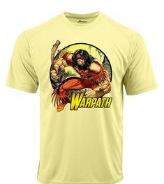 dcf5aad4e Warpath Dri Fit graphic Tshirt moisture wicking superhero comic book SPF tee  - Athletic Apparel