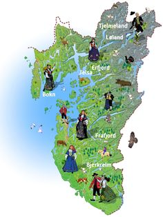 Hello all, this is part three of my overview of Norway, even if I published them out of order. This will cover the west of Norway. Folk Costume, Costumes, Norway Map, Going Out Of Business, Antique Photos, World Cultures, Sweden, Scandinavian, Travel