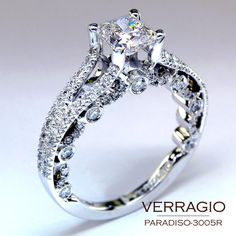 Image Detail for - in engagement rings : PARADISO-3005R ~ This stunning engagement ring ...