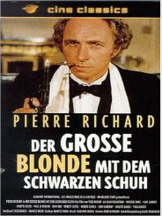 Der große Blonde mit dem schwarzen Schuh : Kinoposter
