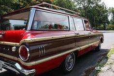 1962 ford falcon squire wagon