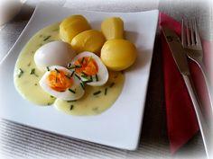 Simi´s Sattmacher- Rezepte und mehr.....: Eier mit Senfsoße