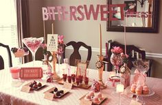 Courtney Whitmore of Pizzazzerie -- Valentine's Day table
