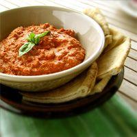 Mouhamara (purée de poivrons aux noix) - recette libanaise