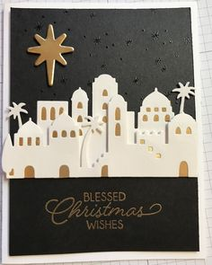 Night in Bethlehem by hopeful1 - Cards and Paper Crafts at Splitcoaststampers