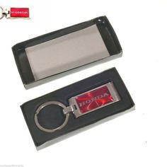Honda KeyChain Red Honda Accessories Honda Collectibles Car Keychain Honda #Honda
