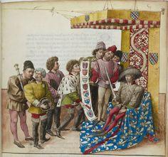 Traittié de la forme et devis comme on fait les tournoyz », par « RENE D'ANJOU   Date d'édition :  1401-1500  Français 2693  Folio 6r