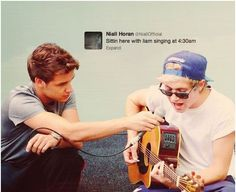 Niam singing together. Just not okay.