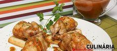 Receita de Codornizes fritas com molho piripiri. Descubra como cozinhar Codornizes fritas com molho piripiri de maneira prática e deliciosa com a Teleculinária!