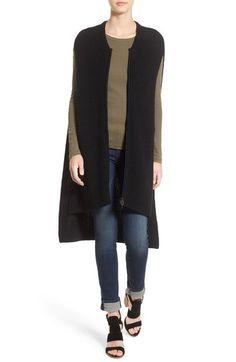 Halogen® Knit Zip Vest available at #Nordstrom