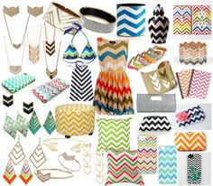 Crazy and Consumed by all things Chevron | Details Details - Wedding and Event Planning