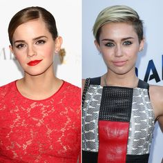 How to Grow Out a Pixie Cut without Awkwardness- good tips @Lori Bearden Justice   On a side note Miley is lookin a hot mess in this pic lol