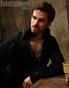 "Colin O'Donoghue as Captain Hook. Introduced Oct 21. ""The Crocodile"" I'm drooling already."