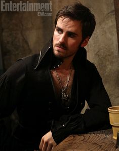 Colin O'Donoghue as Hook.