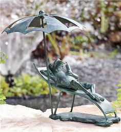 How to embellish your garden! Also Metal remedy.