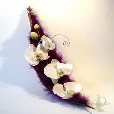 Le porte alliances ELAIA sur une version argent et violet. Cushion Ring, Art Floral, Violet, Table Centerpieces, Flower Arrangements, Marie, Wedding Decorations, Weddings, Etsy