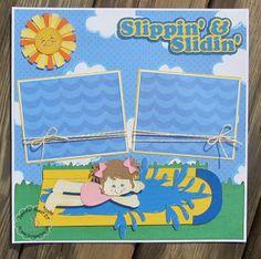 Slip and Slide Kids pattern file by ScrappyDew.com